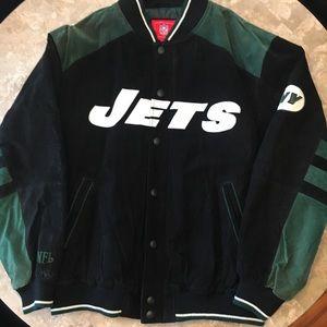 Men's NFL suede NY Jets jacket